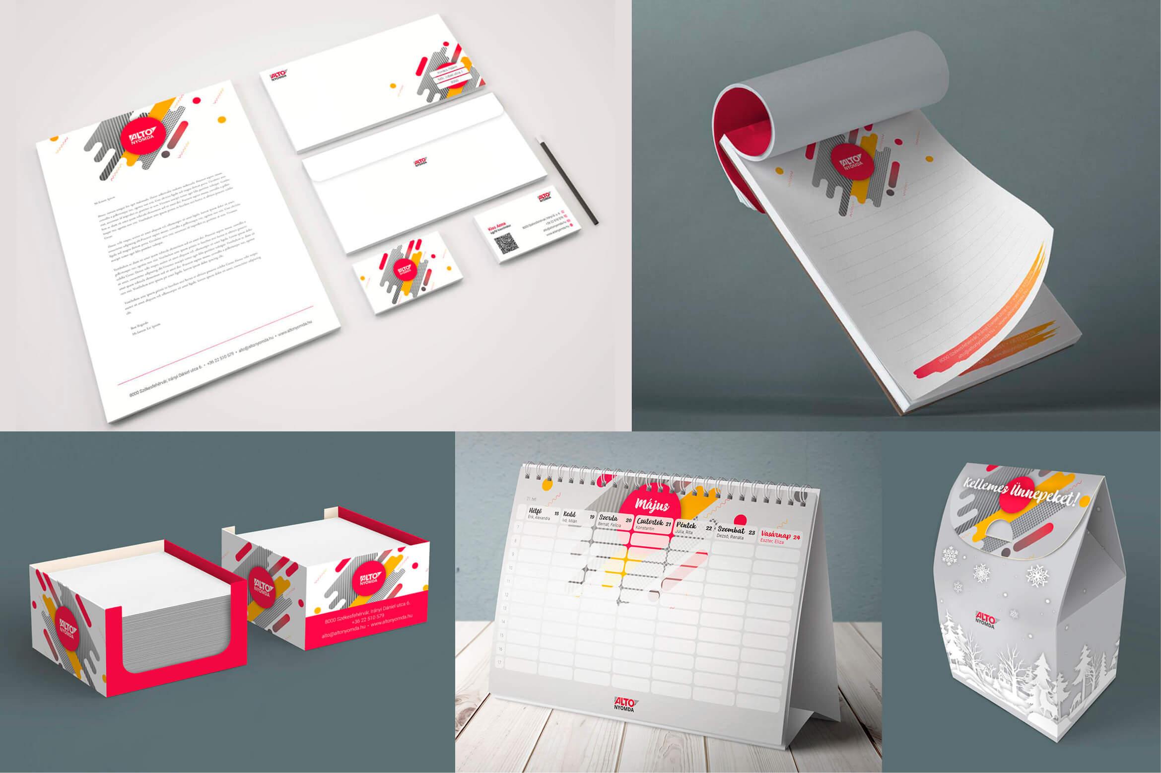 névjegykártya nyomtatás, tervezés